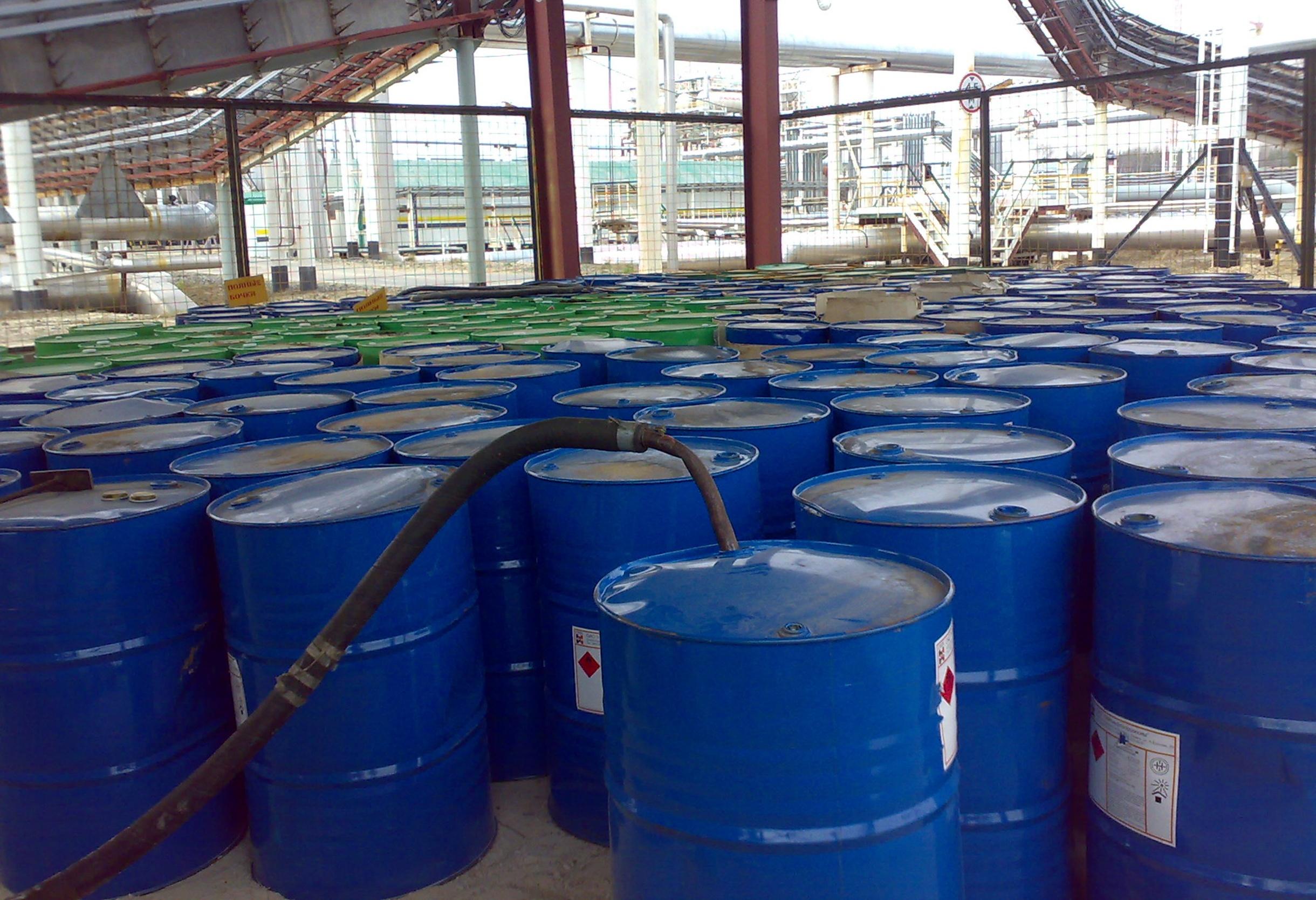 barrels